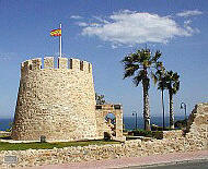 Torrevieja, on the Costa Blanca, in sunny Spain