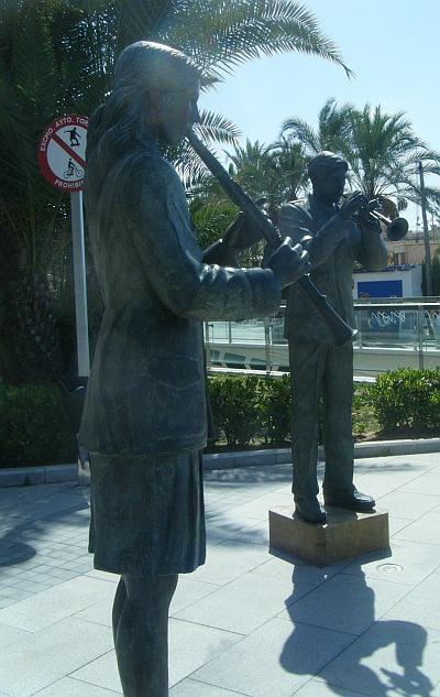 Torrevieja on the Costa Blanca