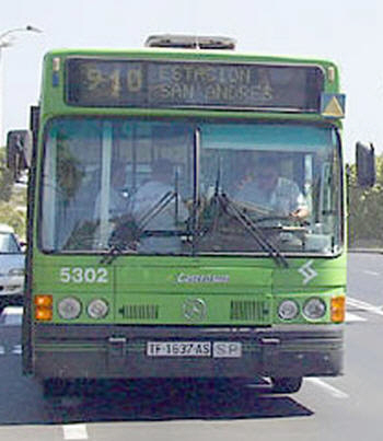 Bus service from Torrevieja - Bus times for Torrevieja - Alicante - Murcia - Orihuela - Cartagena