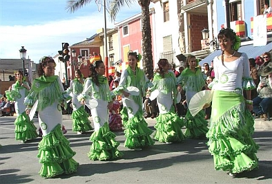 Fiestas in Torrevieja and local holidays in Torrevieja