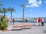 Torrevieja, on the Costa Blanca, in Spain