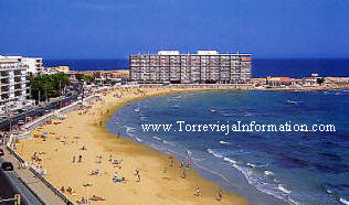 Torrevieja, on the Costa Blanca